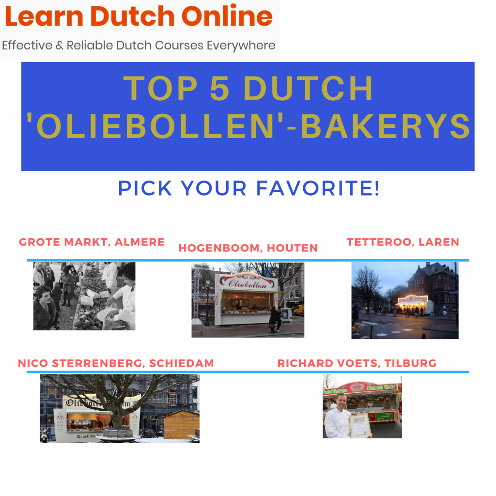 It's never too late for a good snack. And you're not celebrating new year's eve without eating 'oliebollen' (literally: oil balls). Get the best oliebollen recipe from the Learn Dutch Online blog to end 2019 like a real Dutchie right here, right now!